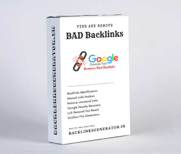 Remove Bad Backlinks from Google