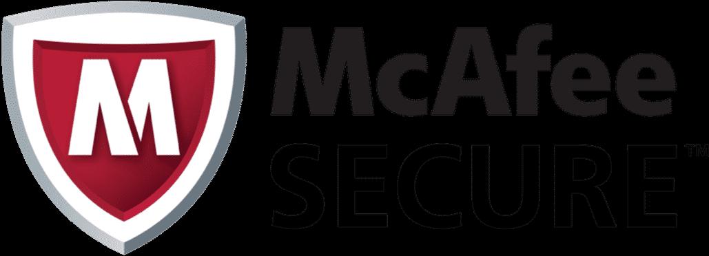 mcafee secure badge