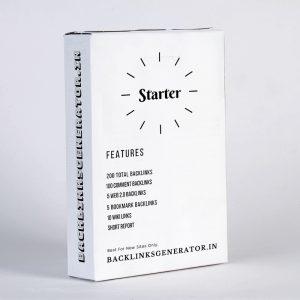 Starter Plan Package