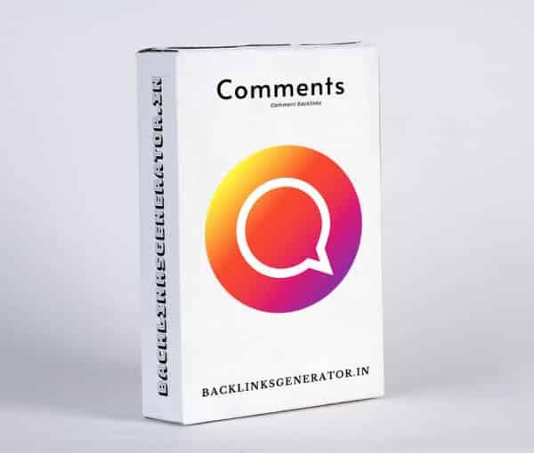 buy comment backlinks
